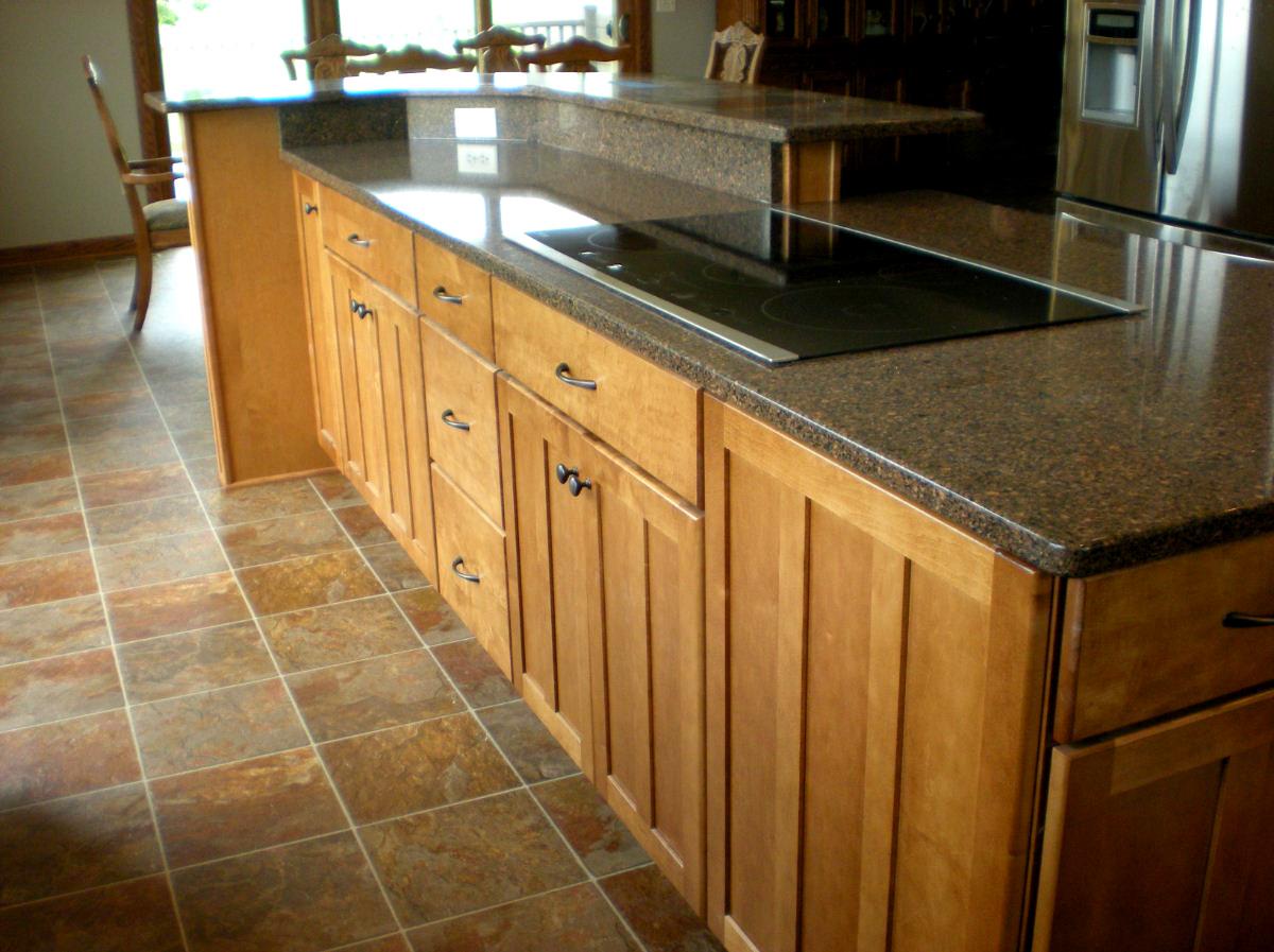 Maple Kitchen installation