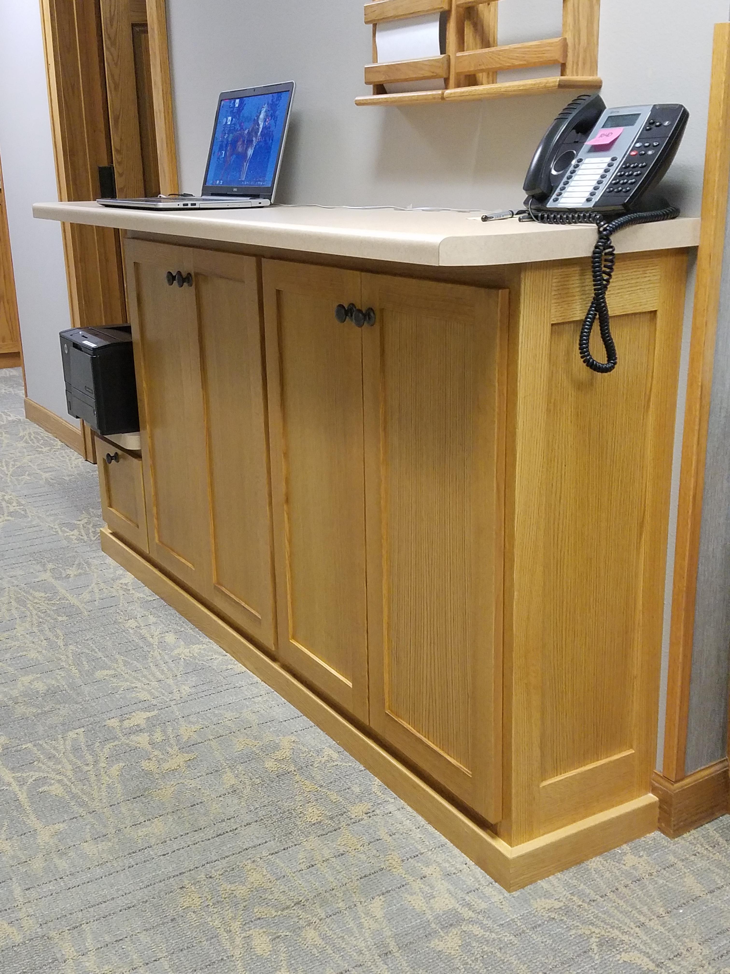 Eye Clinic Hallway cabinet